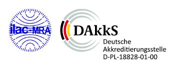 Die Deutsche Akkreditierungsstelle GmbH (DAkkS) - Logo