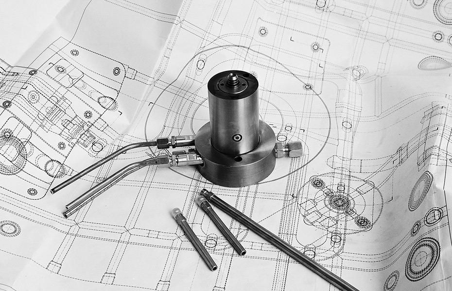 Konstruktion TiK-WIT-Injektor