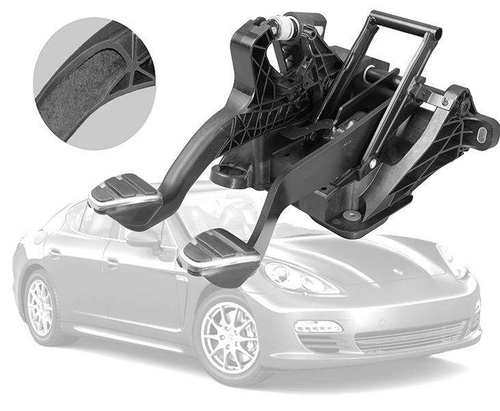 Porsche Panamera Pedalbock mit TiK WIT